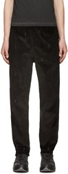 Alexander Wang Black Corduroy Dancers Trousers