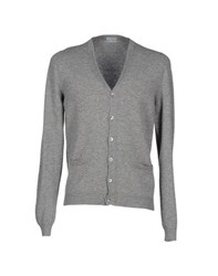 Malo Knitwear Cardigans Men Grey