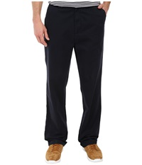 Nautica Classic Flat Front Pants True Navy Men's Casual Pants