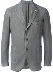 Gabriele Pasini Three Button Blazer Grey