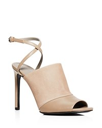 Vince Grace High Heel Open Toe Sandals Pumice