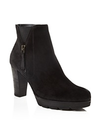 Paul Green Dashing High Heel Booties Black