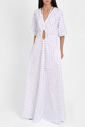 Rosie Assoulin Crater Gown Lucky Ch