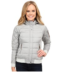 Outdoor Research Placid Down Jacket Alloy Women's Coat Gray