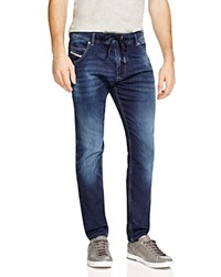 Diesel Krooley Relaxed Fit Jogger Jeans In Denim