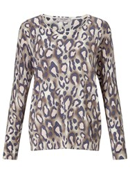 Gerry Weber Animal Print Jumper Multi