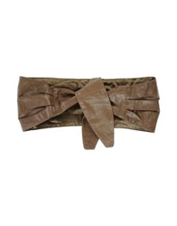 Twin Set Simona Barbieri Belts Khaki