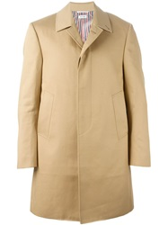 Thom Browne Classic Raincoat Nude And Neutrals