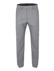 Gibson Men's Grey Check Trouser Grey