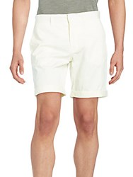 J. Lindeberg Nathan Stretch Cotton Shorts White