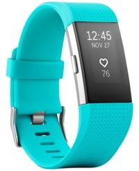 Fitbit Charge 2 Heart Rate Fitness Wristband Teal