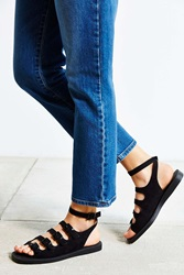 Urban Outfitters Ada Suede Gladiator Sandal Black