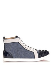 Christian Louboutin Bip Bip Orlato Spikes High Top Trainers