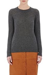 Barneys New York Women's Cashmere Loose Knit Sweater Black