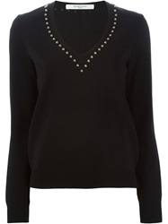 Givenchy Studded Sweater Black