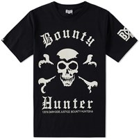 Bounty Hunter Old Skull Tee Black