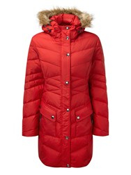 Tog 24 Rialto Womens Down Jacket Red