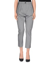 Erika Cavallini Semi Couture Erika Cavallini Semicouture Trousers 3 4 Length Trousers Women Grey
