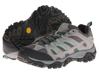 Merrell Moab Ventilator Drizzle Mint Women's Cross Training Shoes Gray