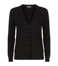 Burberry Elbow Patch Cardigan Female Black
