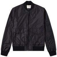 Our Legacy Patch Pocket Bomber Jacket Black