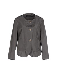 Cividini Suits And Jackets Blazers Women Grey
