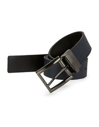 Calvin Klein Reversible Flat Strap Belt Ink