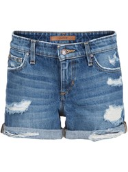Joe's Jeans 'The Rolled' Shorts Blue