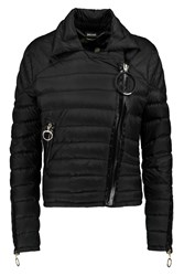 Just Cavalli Padded Shell Coat Black