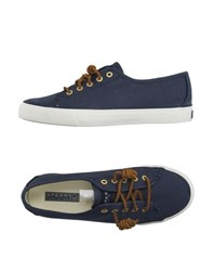 Sperry Top Sider Footwear Low Tops And Trainers Women Slate Blue