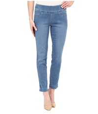 Miraclebody Jeans Andie 28 Ankle Pull On Jeans In Tabago Blue Tabago Blue Women's Jeans