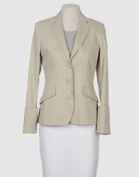 Mauro Gasperi Blazers Light Grey