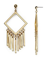 Dylan Gray Geo Fringe Earrings Gold