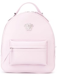 Versace Mini Medusa Backpack Pink And Purple