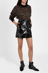 Isabel Marant Women S Patent Leather Skirt Boutique1 Black