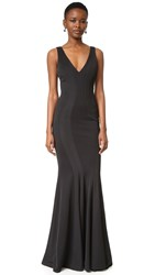 Zac Posen Ronnie Gown Black