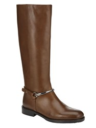 Phase Eight Hazel Riding Boots Tan