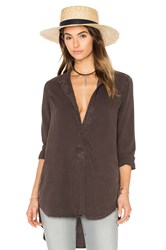 Bella Dahl Pocket Tunic Brown