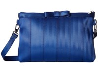 Harveys Seatbelt Bag Bow Clutch Cobalt Clutch Handbags Blue