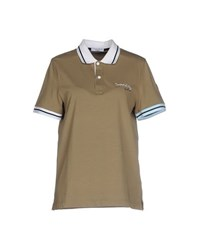 Cooperativa Pescatori Posillipo Topwear Polo Shirts Women Military Green