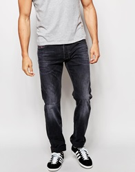 Diesel Jeans Safado 669F Straight Fit Black Washed Out Blackwashedout