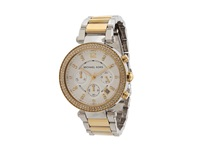 Michael Kors Mk5626 Sport Parker Chronograph Gold Silver Analog Watches