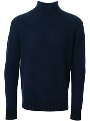 Adidas Slvr Ribbed Knit Sweater Blue