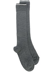 Isabel Marant 'Zina' Socks Grey