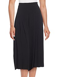 1.State Pleated Culotte Pants Rich Black