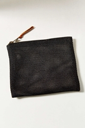 Urban Outfitters Uo Mesh Makeup Bag Black