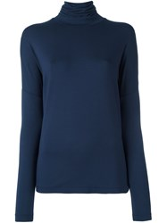 By Malene Birger Roll Neck Jumper Blue