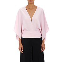 Narciso Rodriguez Women's Dolman Sleeve Blouse Pink Size 0 Us