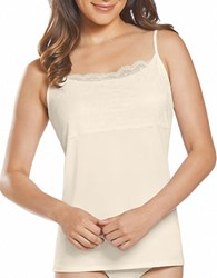 Jockey No Panty Line Promise Luxe Lace Cami Soft Sand