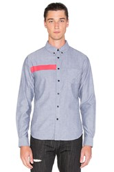 Black Scale Ulai Button Down Gray